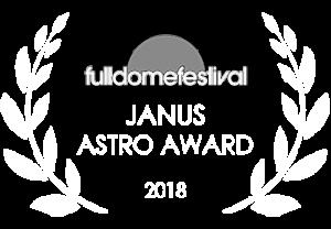 Janus Astro Award for Explore in 2018