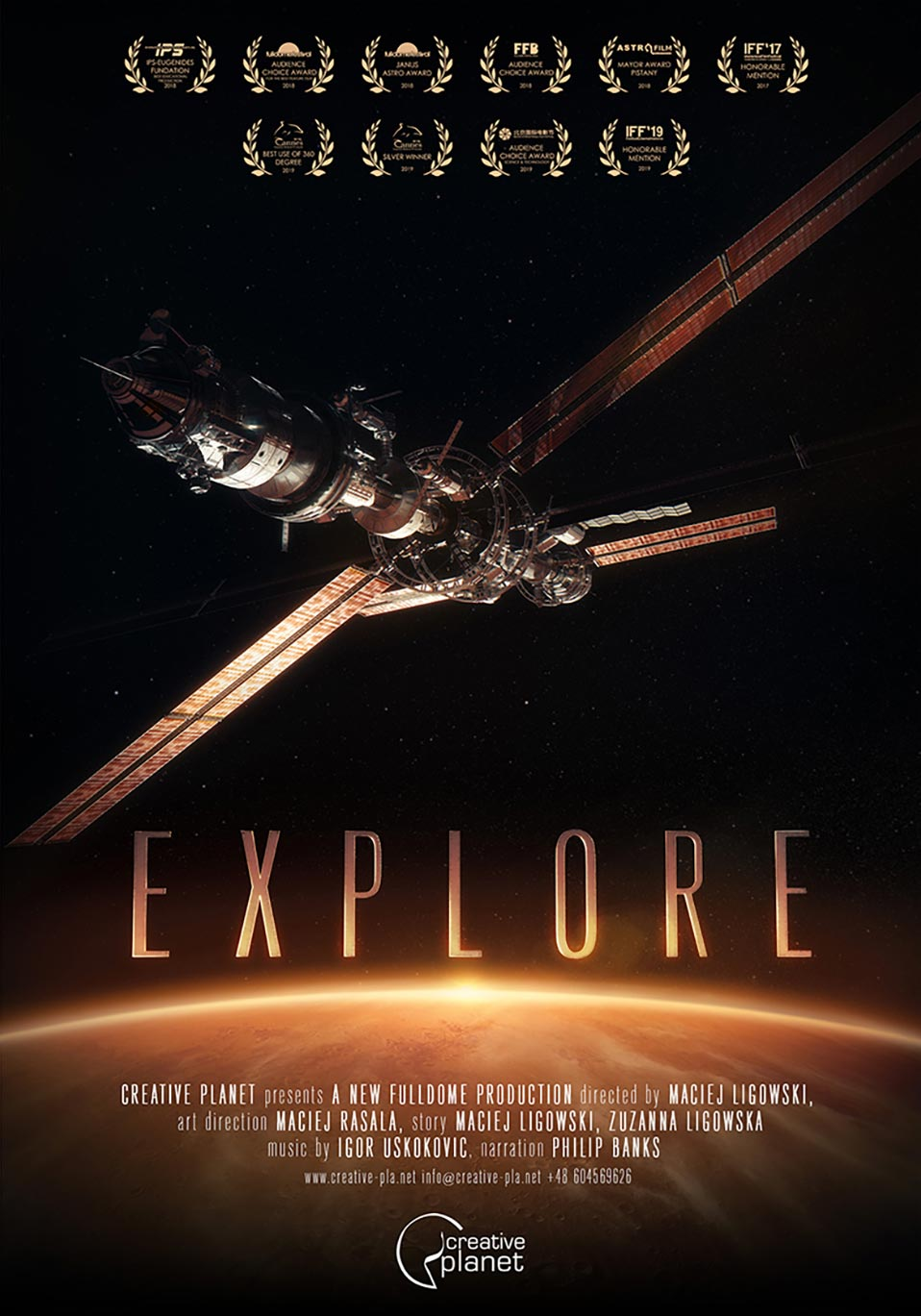 Explore by Creative Planet - poster